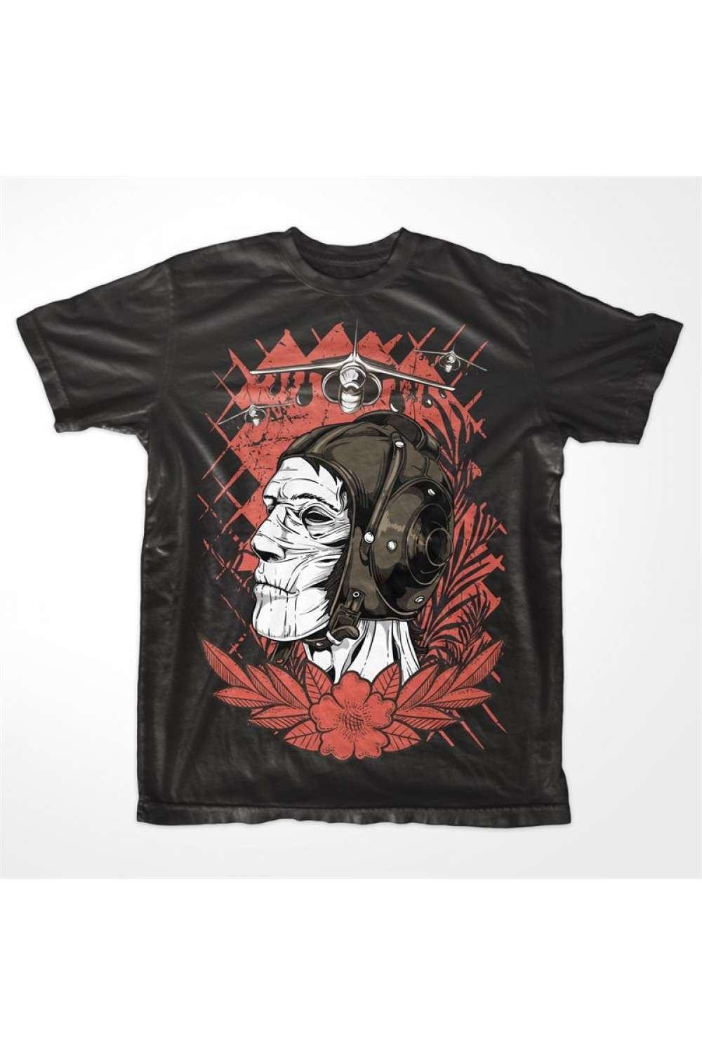 Skulls Men Printed T shirt 4017